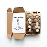 Dekorácie - Mini košíčky na vajíčka (100% biobavlna) - 10641092_