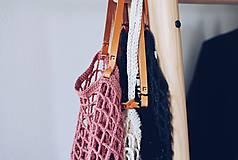 """Veľké tašky - Sieťka s koženými rúčkami """"F_09"""" - 10638834_"""
