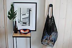 """Veľké tašky - Sieťka s koženými rúčkami """"F_09"""" - 10638842_"""