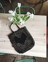 """Veľké tašky - Sieťka s koženými rúčkami """"F_09"""" - 10638844_"""