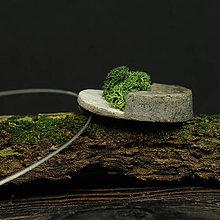 Náhrdelníky - RAKU nahrdelnik REINDEER MOSS - 10641192_