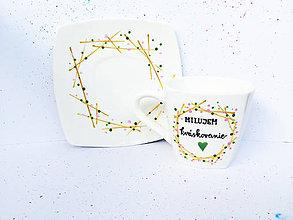 Nádoby - Šálka na kávu pre milovníka kváskovania - 10641070_