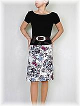 Sukne - Sukně z krásné rifloviny  vz.600 - 10641073_