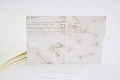 Papiernictvo - Svadobná obálka na peniaze - pierka hnedé - 10639155_