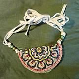 Náhrdelníky - Amulet bag - 10640538_