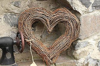 Dekorácie - Srdce na objednávku  - 10639876_