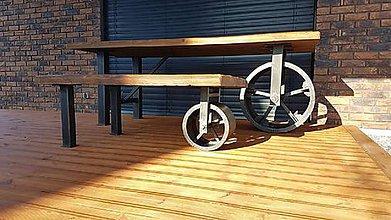Nábytok - Seria kolesovych stolov - 10639065_