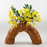 Dekorácie - Váza atypická 25x14 cm - 10638579_