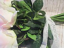 Dekorácie - Kytica ruží - 10640466_