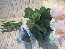 Dekorácie - Kytica ruží - 10640488_