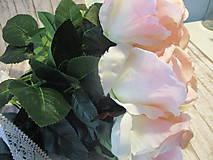 Dekorácie - Kytica ruží - 10640494_