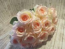 Dekorácie - Kytica ruží - 10640495_