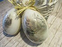 Dekorácie - Sada vajíčok - pán Zajko - 10640543_