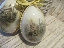 Dekorácie - Sada vajíčok - pán Zajko - 10640551_