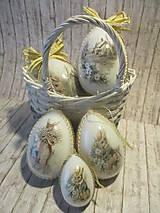 Dekorácie - Sada vajíčok - pán Zajko - 10640556_