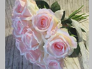 Dekorácie - Kytica ruží - 10640490_