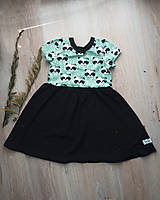 Detské oblečenie - PUPU šaty- pandičky (bio-bavlna) - 10639335_