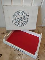 Dekorácie - Box na doklady - biely - 10639236_