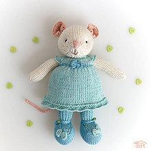 """Hračky - myška """"Miška"""" - 10639642_"""