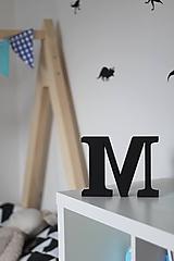 Dekorácie - 3D Písmeno na poličku - 10640436_