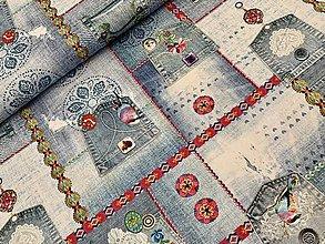 Textil - Bavlnene latky sanforizovane dovoz Francúzsko  - 10639817_