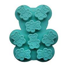 Pomôcky/Nástroje - Forma na malých medvedíkov - 10641248_