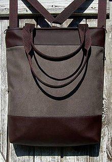 "Batohy - ""backpack 3in1-  brown"" - Batoh & taška cez rameno - 10641033_"