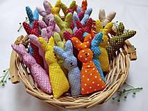 Dekorácie - Zajačiky - 10640171_