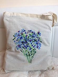 Nákupné tašky - Nezábudky - 10641437_