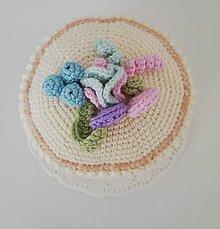 c84118ec3 Hračky - Háčkovaná torta - 10644489_