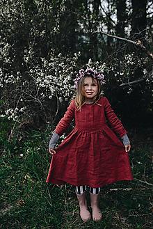 Detské oblečenie - Zoja šaty - 10643396_