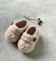 Topánočky - Topánočky pre bábätko - 10642490_