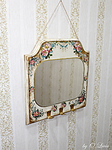 Zrkadlá - Vintage zrkadlo  (Divé ruže) - 10642806_