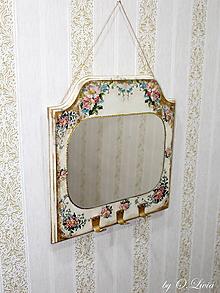 Zrkadlá - Vintage zrkadlo - 10642806_