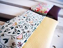 Taštičky - Kozmetická taška veľká - malé vtáčiky - 10642974_