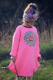 Detské oblečenie - Mikinošaty  Asimetric - 10644399_