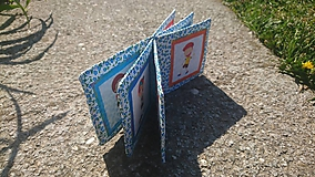 - Kniha protikladov - modré kvety - 10642447_