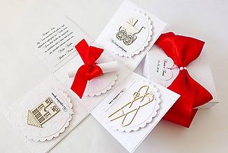 Krabičky - Exploding box - darčeková krabička svadobná - 10641490_