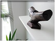 Svietidlá a sviečky - Drevený svietnik 005 - 10643609_
