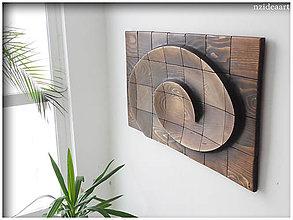 Obrazy - Drevený obraz, 3D dekorácia na stenu...NZ-338 - 10642602_