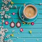 Náušnice - Pottery earrings n.37 - vyšívané náušnice - 10641448_