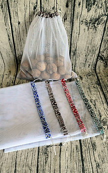 Nákupné tašky - Eko vrecko na nakupovanie veľké - 10643859_