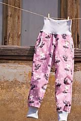 Detské oblečenie - Softshellky s baletkami - 10641939_