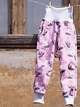 Detské oblečenie - Softshellky s baletkami - 10641941_
