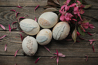 Dekorácie - Veľkonočné vajíčka - čarovné - 10642851_