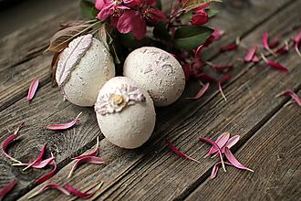 Dekorácie - Tri čarovné veľkonočné vajíčka - 10642876_
