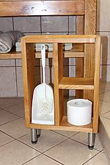 Nábytok - stolík pod umývadlo/kúpelňová zostava - masív - 10643426_