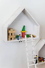 Nábytok - Domčeky a rebríky - 10644245_