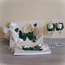 Papiernictvo - Svadobná réva - svadobná darčeková kolekcia - 10643194_