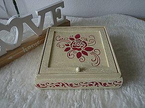 Krabičky - Šperkovnica - 10642253_